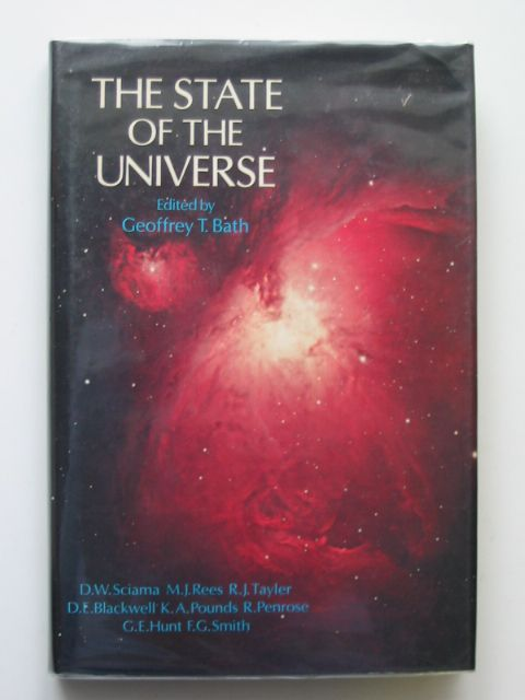 Photo of THE STATE OF THE UNIVERSE written by Bath, Geoffrey T. published by Oxford University Press (STOCK CODE: 666088)  for sale by Stella & Rose's Books