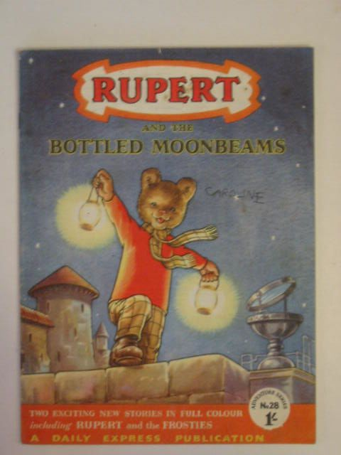 Photo of RUPERT ADVENTURE SERIES No. 28 - RUPERT AND THE BOTTLED MOONBEAMS- Stock Number: 666956