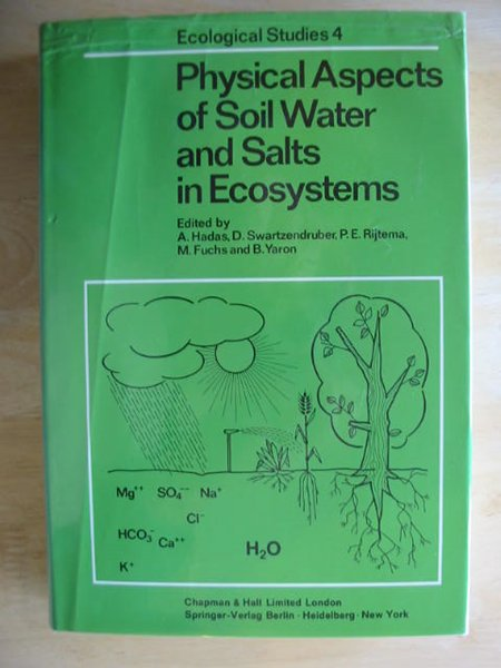 Photo of PHYSICAL ASPECTS OF SOIL WATER AND SALTS IN ECOSYSTEMS- Stock Number: 667294