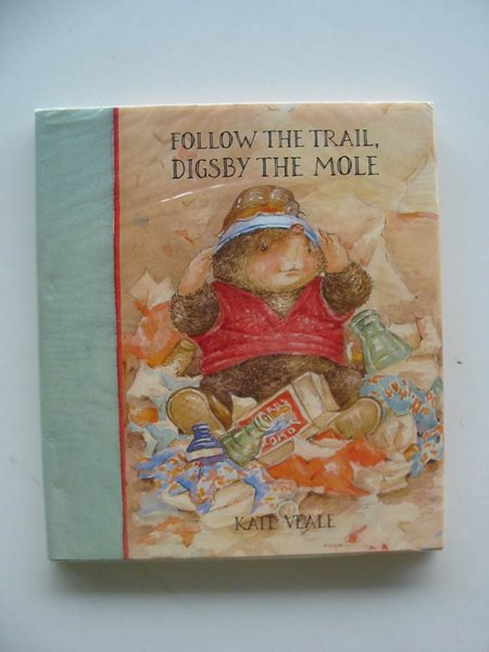 Photo of FOLLOW THE TRAIL, DIGSBY THE MOLE written by Veale, Kate illustrated by Veale, Kate published by BCA (STOCK CODE: 671132)  for sale by Stella & Rose's Books