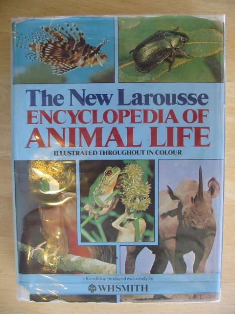 Photo of THE NEW LAROUSSE ENCYCLOPEDIA OF ANIMAL LIFE published by W.H. Smith (STOCK CODE: 671457)  for sale by Stella & Rose's Books