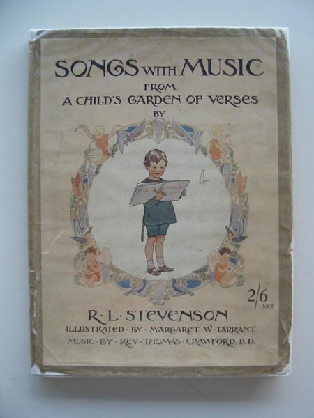 Photo of SONGS WITH MUSIC FROM A CHILD'S GARDEN OF VERSES written by Stevenson, Robert Louis illustrated by Tarrant, Margaret published by T.C. & E.C. Jack (STOCK CODE: 671814)  for sale by Stella & Rose's Books