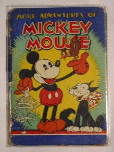 Photo of THE ADVENTURES OF MICKEY MOUSE written by Disney, Walt illustrated by Disney, Walt published by Dean & Son Ltd. (STOCK CODE: 672781)  for sale by Stella & Rose's Books