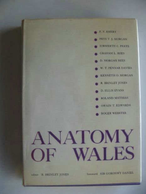 Photo of ANATOMY OF WALES written by Jones, R. Brinley