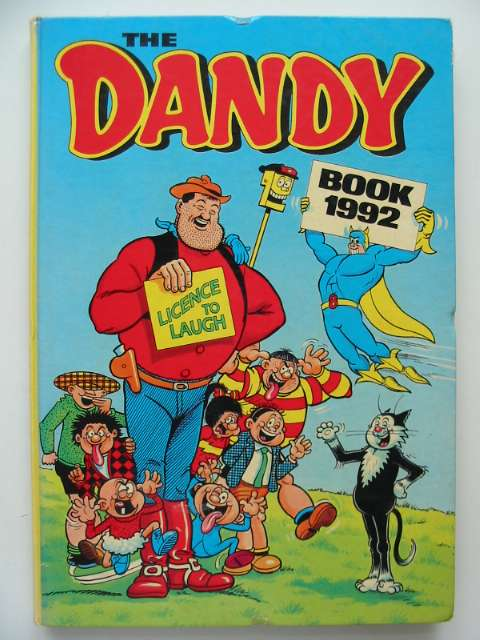 Photo of THE DANDY BOOK 1992 published by D.C. Thomson & Co Ltd. (STOCK CODE: 674265)  for sale by Stella & Rose's Books