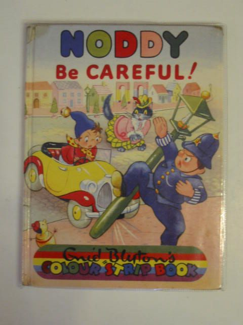 Photo of NODDY BE CAREFUL! written by Blyton, Enid illustrated by Beek,  published by Sampson Low, Marston & Co. Ltd., D.V. Publications Ltd. (STOCK CODE: 674764)  for sale by Stella & Rose's Books