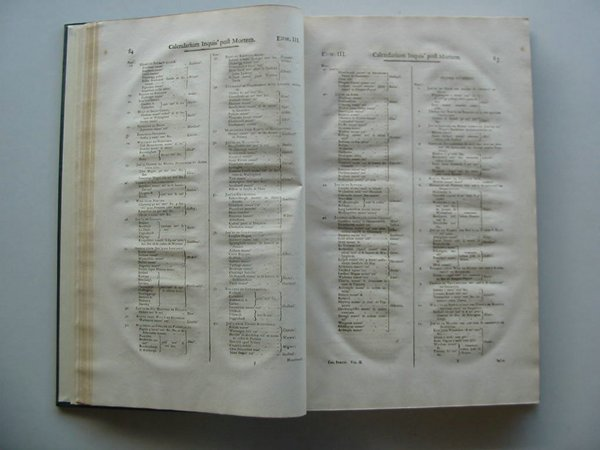 Photo of CALENDARIUM INQUISITIONUM POST MORTEM SIVE ESCAETARUM (STOCK CODE: 675076)  for sale by Stella & Rose's Books