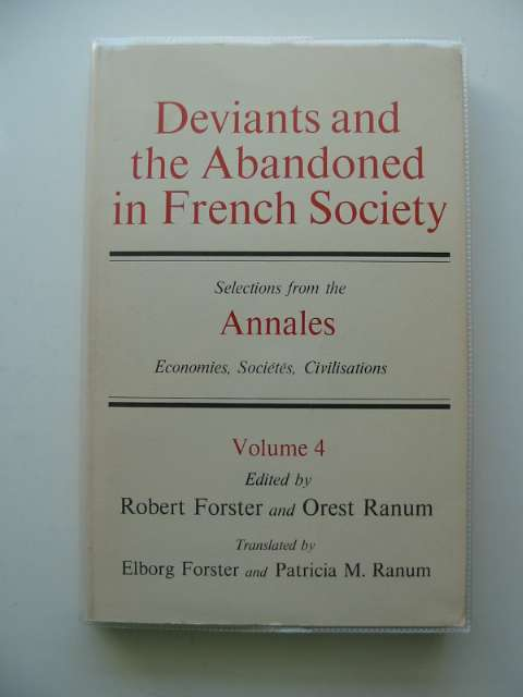 Photo of DEVIANTS AND THE ABANDONED IN FRENCH SOCIETY- Stock Number: 675778