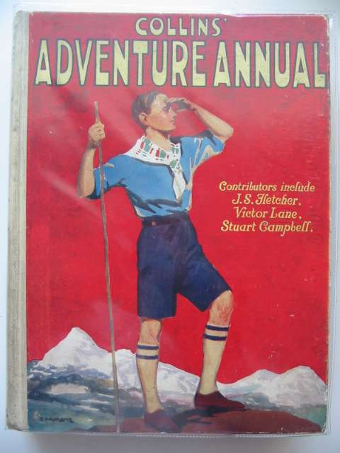 Photo of COLLINS' ADVENTURE ANNUAL written by Fletcher, J.S. Horler, Sydney et al,  published by Collins Clear-Type Press (STOCK CODE: 679362)  for sale by Stella & Rose's Books