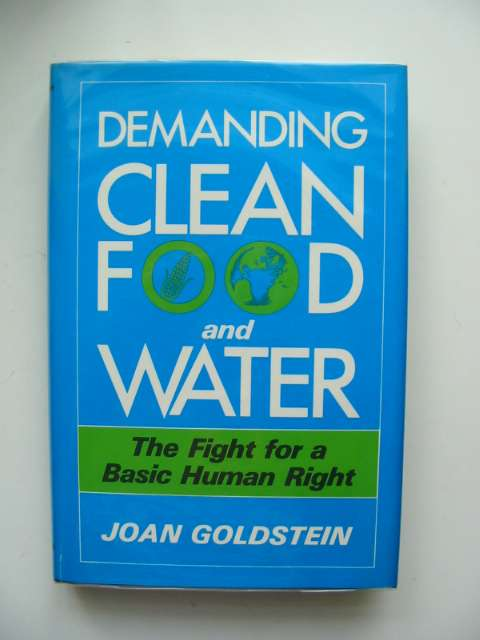 Photo of DEMANDING CLEAN FOOD AND WATER- Stock Number: 680358