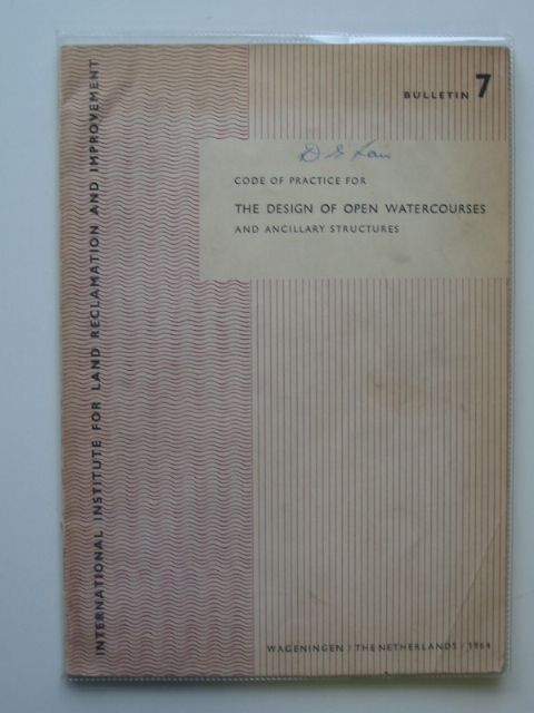 Photo of CODE OF PRACTICE FOR THE DESIGN OF OPEN WATERCOURSES AND ANCILLARY STRUCTURES published by H. Veenman & Zonen Ltd. (STOCK CODE: 681540)  for sale by Stella & Rose's Books