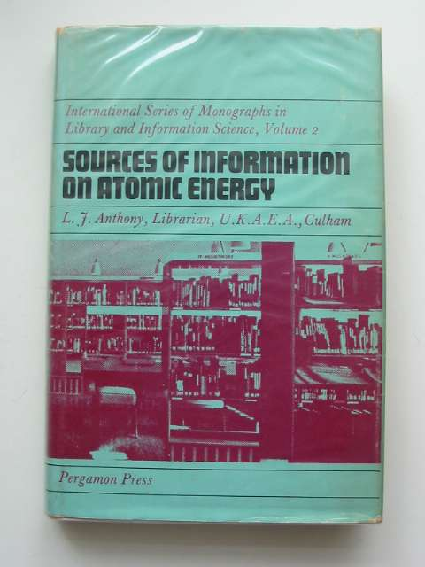 Photo of SOURCES OF INFORMATION ON ATOMIC ENERGY- Stock Number: 683512