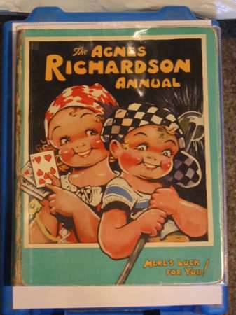 Photo of THE AGNES RICHARDSON ANNUAL written by Richardson, Agnes illustrated by Richardson, Agnes published by Birn Brothers Ltd. (STOCK CODE: 683751)  for sale by Stella & Rose's Books