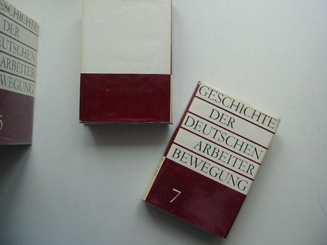 Photo of GESCHICHTE DER DEUTSCHEN ARBEITER BEWEGUNG published by Dietz (STOCK CODE: 684823)  for sale by Stella & Rose's Books