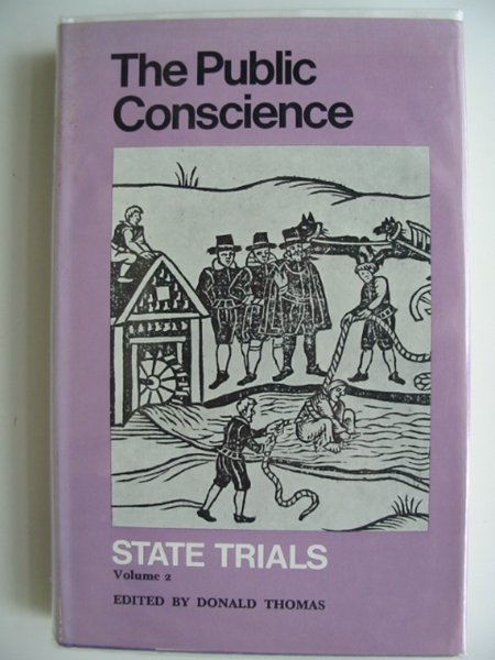 Photo of THE PUBLIC CONSCIENCE STATE TRIALS VOLUME 2 written by Thomas, Donald published by Routledge & Kegan Paul (STOCK CODE: 685138)  for sale by Stella & Rose's Books
