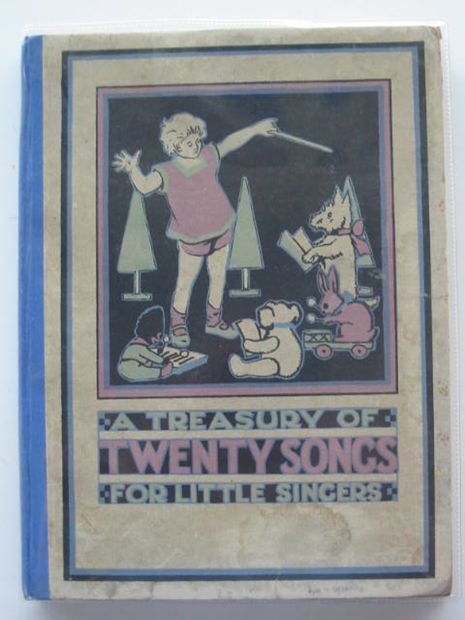 Photo of A TREASURY OF TWENTY SONGS FOR LITTLE SINGERS- Stock Number: 685221