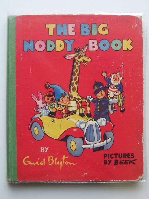 Photo of THE BIG NODDY BOOK written by Blyton, Enid illustrated by Beek,  published by Sampson Low, Marston & Co. Ltd. (STOCK CODE: 689061)  for sale by Stella & Rose's Books