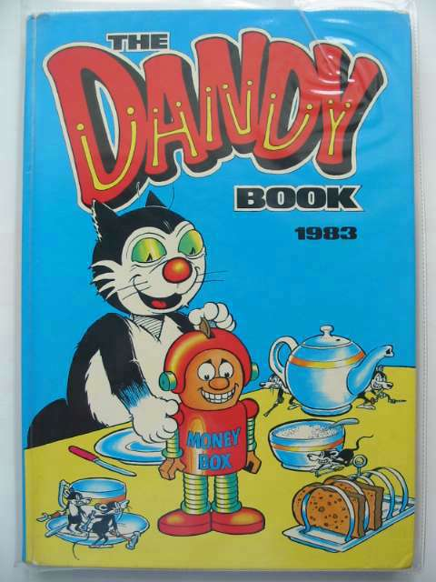 Photo of THE DANDY BOOK 1983 published by D.C. Thomson & Co Ltd. (STOCK CODE: 690558)  for sale by Stella & Rose's Books