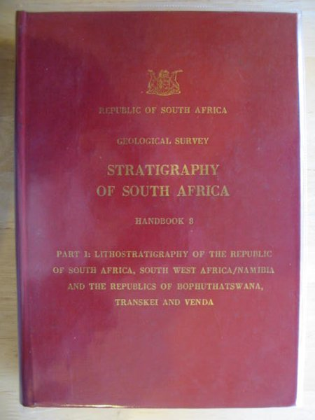 Photo of STRATIGRAPHY OF SOUTH AFRICA HANDBOOK 8 written by Kent, L.E. published by Republic Of South Africa (STOCK CODE: 692112)  for sale by Stella & Rose's Books