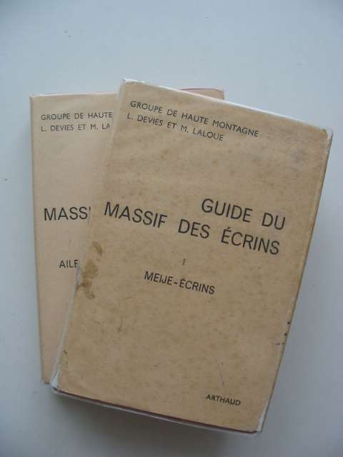 Photo of GUIDE DU MASSIF DES ECRINS (2 VOLS) written by Devies, Lucien Laloue, Maurice published by B. Arthaud (STOCK CODE: 692737)  for sale by Stella & Rose's Books