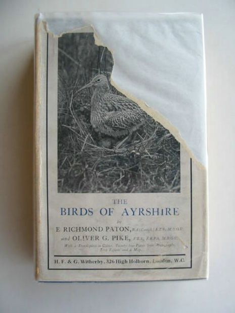 Photo of THE BIRDS OF AYRSHIRE written by Paton, E. Richmond