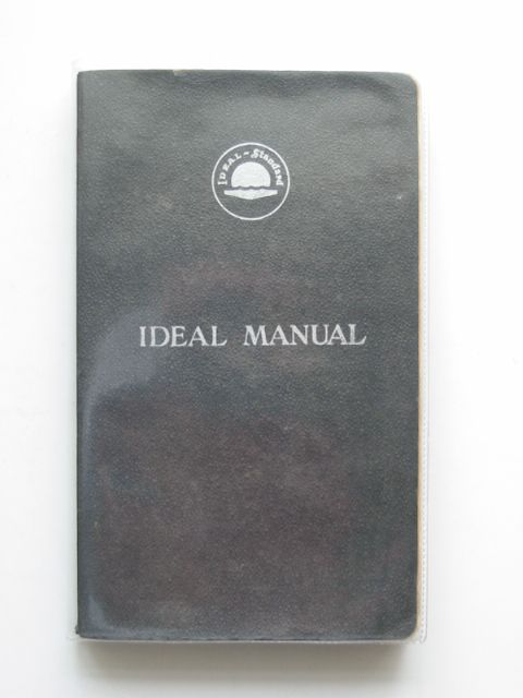 Photo of IDEAL MANUAL published by Ideal Boilers & Radiators Ltd. (STOCK CODE: 693431)  for sale by Stella & Rose's Books
