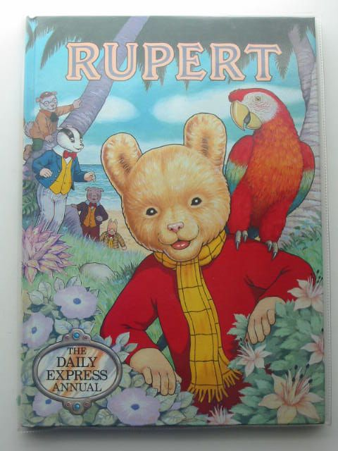 Photo of RUPERT ANNUAL 1987 written by Henderson, James illustrated by Harrold, John published by Daily Express (STOCK CODE: 695001)  for sale by Stella & Rose's Books