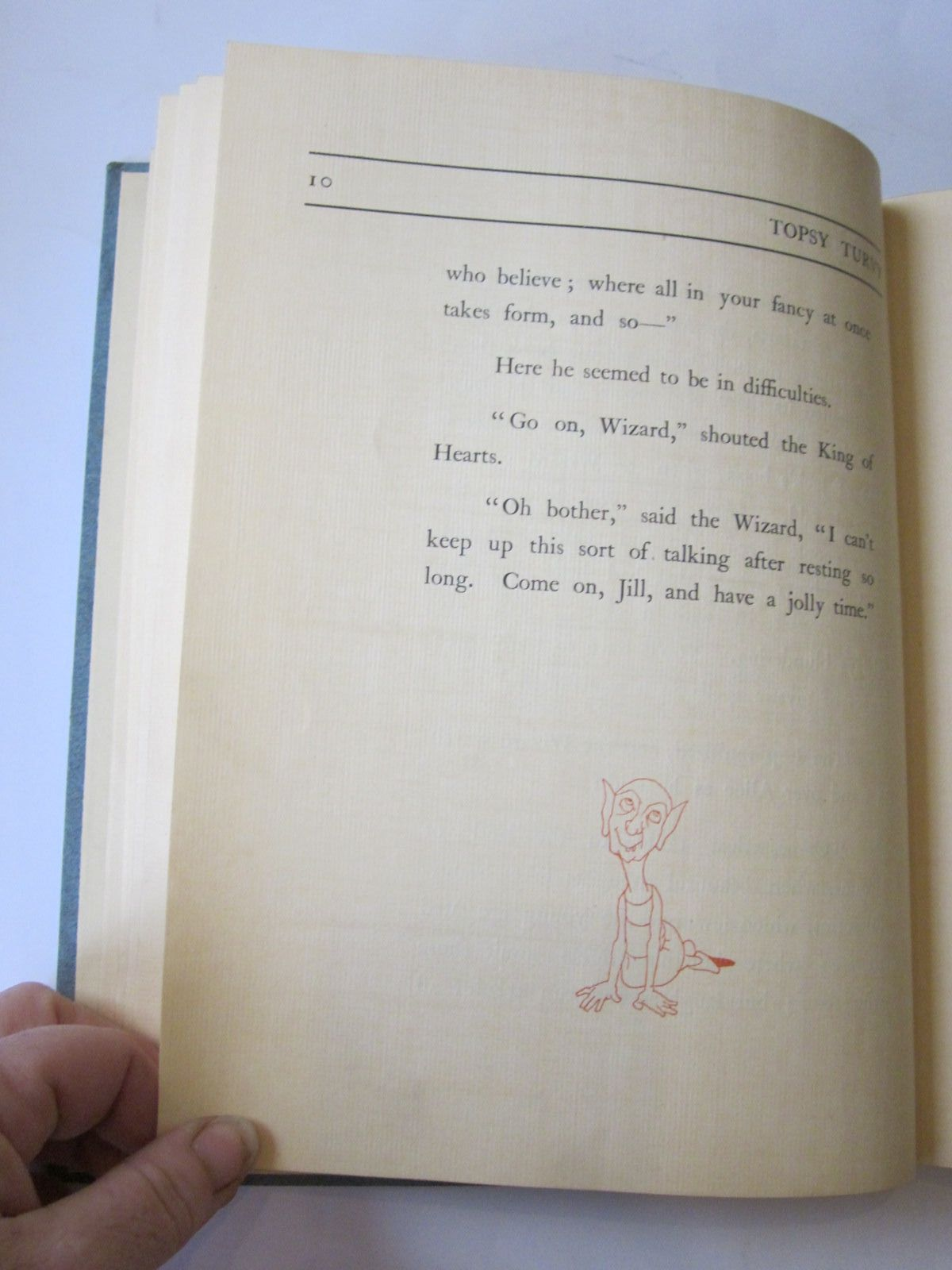 Photo of TOPSY TURVY written by Minnion, W.J. illustrated by Robinson, Charles published by The Connoisseur (STOCK CODE: 714443)  for sale by Stella & Rose's Books