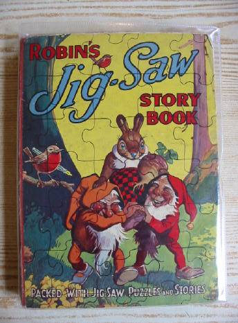 Photo of ROBIN'S JIG-SAW STORY BOOK published by John Leng (STOCK CODE: 717125)  for sale by Stella & Rose's Books