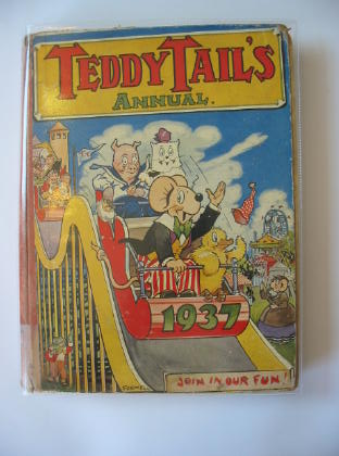 Photo of TEDDY TAIL'S ANNUAL 1937 published by William Collins Sons & Co. Ltd. (STOCK CODE: 717664)  for sale by Stella & Rose's Books