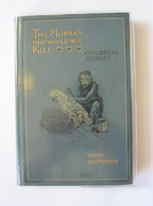 Photo of THE MONKEY THAT WOULD NOT KILL written by Drummond, Henry illustrated by Wain, Louis published by Hodder & Stoughton (STOCK CODE: 717706)  for sale by Stella & Rose's Books