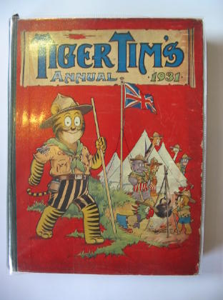 Photo of TIGER TIM'S ANNUAL 1931 illustrated by Foxwell, Herbert et al.,  published by The Amalgamated Press (STOCK CODE: 719343)  for sale by Stella & Rose's Books