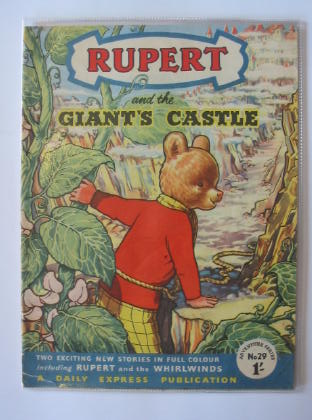 Photo of RUPERT ADVENTURE SERIES No. 29 - RUPERT AND THE GIANT'S CASTLE- Stock Number: 721372