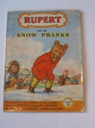 Photo of RUPERT ADVENTURE SERIES No. 31 - RUPERT AND THE SNOW PRANKS written by Bestall, Alfred published by Daily Express (STOCK CODE: 721380)  for sale by Stella & Rose's Books