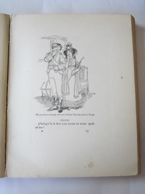 Photo of QUALITY STREET written by Barrie, J.M. illustrated by Thomson, Hugh published by Hodder & Stoughton (STOCK CODE: 724430)  for sale by Stella & Rose's Books