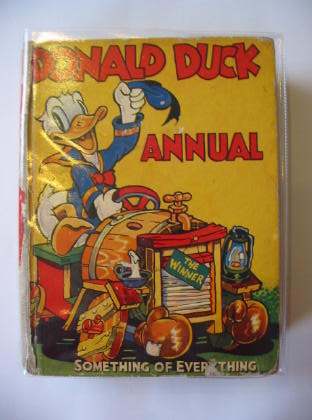 Photo of DONALD DUCK ANNUAL 1939 written by Disney, Walt illustrated by Disney, Walt published by Collins (STOCK CODE: 724561)  for sale by Stella & Rose's Books