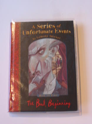 Photo of A SERIES OF UNFORTUNATE EVENTS: THE BAD BEGINNING- Stock Number: 726866
