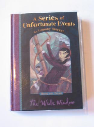 Photo of A SERIES OF UNFORTUNATE EVENTS: THE WIDE WINDOW written by Snicket, Lemony illustrated by Helquist, Brett published by Egmont Children's Books Ltd. (STOCK CODE: 726868)  for sale by Stella & Rose's Books