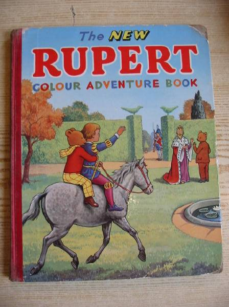 Photo of THE NEW RUPERT COLOUR ADVENTURE BOOK written by Tourtel, Mary published by L.T.A. Robinson Ltd. (STOCK CODE: 728018)  for sale by Stella & Rose's Books