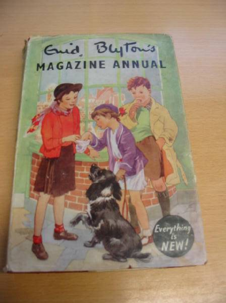 Photo of ENID BLYTON'S MAGAZINE ANNUAL NO. 2 written by Blyton, Enid published by Evans Brothers Limited (STOCK CODE: 728265)  for sale by Stella & Rose's Books