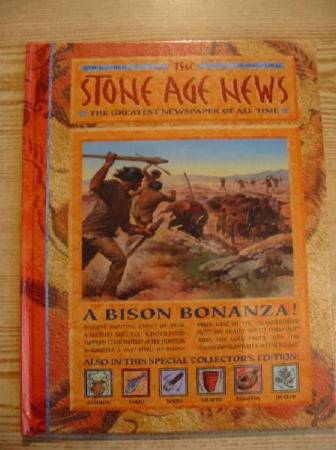 Photo of THE STONE AGE NEWS written by MacDonald, Fiona illustrated by Molan, Chris Hook, Christian et al.,  published by Gareth Stevens Publishing (STOCK CODE: 728756)  for sale by Stella & Rose's Books