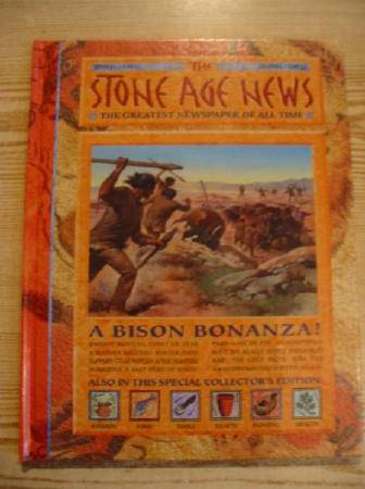 Photo of THE STONE AGE NEWS written by MacDonald, Fiona illustrated by Molan, Chris Hook, Christian et al.,  published by Gareth Stevens Publishing (STOCK CODE: 728760)  for sale by Stella & Rose's Books