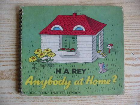 Photo of ANYBODY AT HOME? written by Rey, H.A. illustrated by Rey, H.A. published by Chatto & Windus (STOCK CODE: 729990)  for sale by Stella & Rose's Books