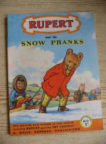 Photo of RUPERT ADVENTURE SERIES No. 31 - RUPERT AND THE SNOW PRANKS written by Bestall, Alfred published by Daily Express (STOCK CODE: 731228)  for sale by Stella & Rose's Books