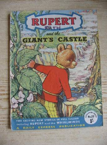 Photo of RUPERT ADVENTURE SERIES No. 29 - RUPERT AND THE GIANT'S CASTLE- Stock Number: 731231