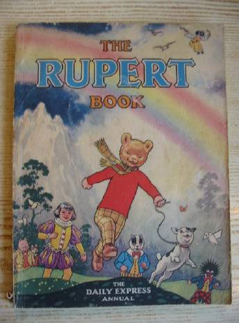 Photo of RUPERT ANNUAL 1948 - THE RUPERT BOOK written by Bestall, Alfred illustrated by Bestall, Alfred published by Daily Express (STOCK CODE: 731375)  for sale by Stella & Rose's Books