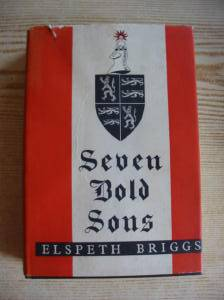 Photo of SEVEN BOLD SONS written by Briggs, Elspeth published by Alden Press (STOCK CODE: 731622)  for sale by Stella & Rose's Books