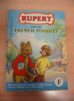 Photo of RUPERT ADVENTURE SERIES No. 25 - RUPERT AND THE FRENCH POODLES- Stock Number: 733153