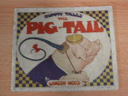 Photo of RUMMY TALES - THE PIG-TAIL- Stock Number: 733536