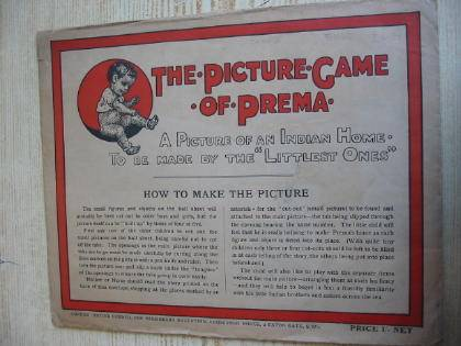 Photo of THE PICTURE GAME OF PREMA published by United Council For Missionary Education (STOCK CODE: 734443)  for sale by Stella & Rose's Books